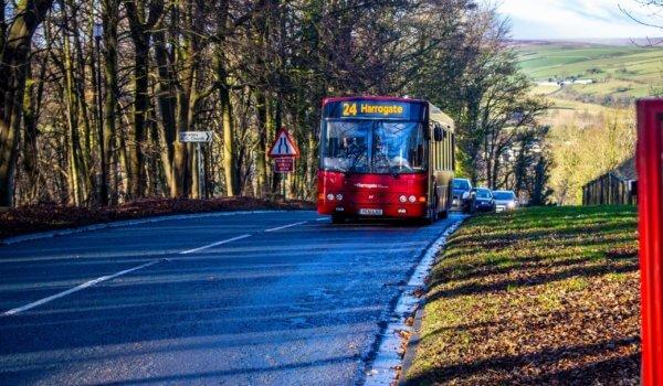 Harrogate to Pateley Bridge via Nidderdale – Route 24 from The Harrogate Bus Company